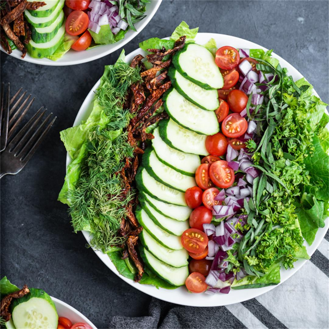 Whole30 Herbed Chopped Salad