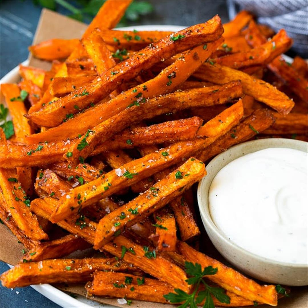 Sweet Potato Fries (Baked or Fried!)