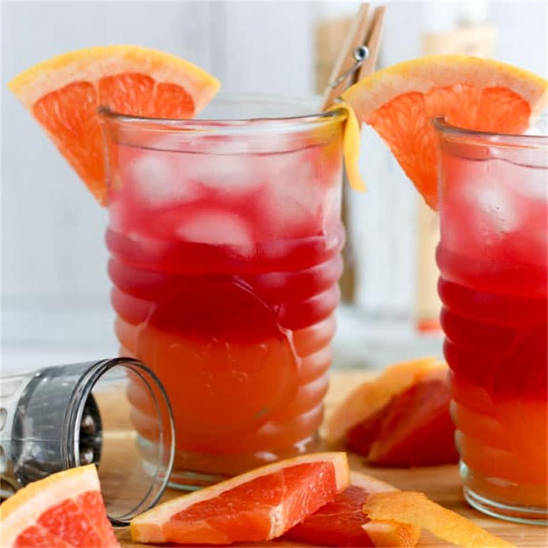 Classic Sea Breeze Cocktail
