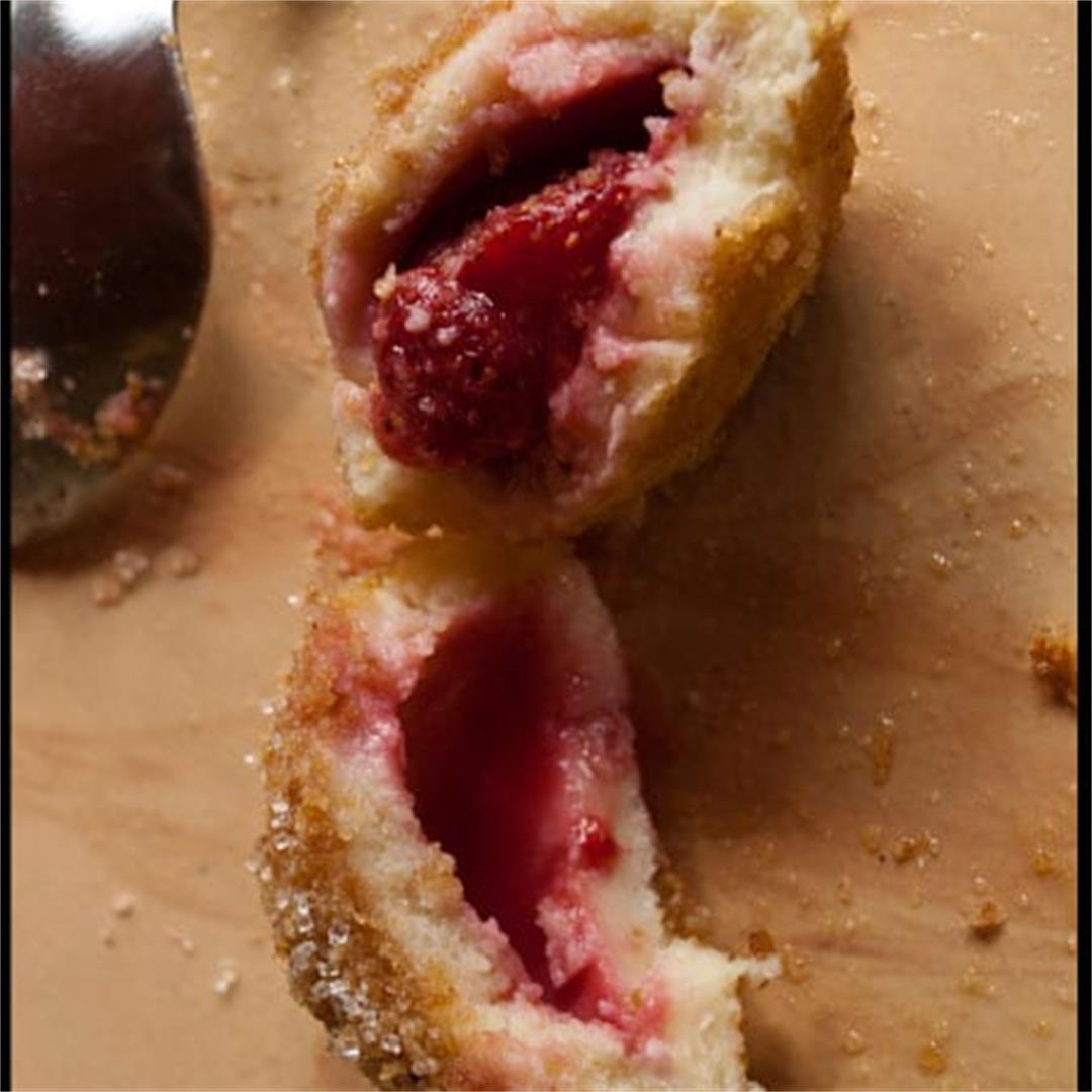 Strawberry Knödel