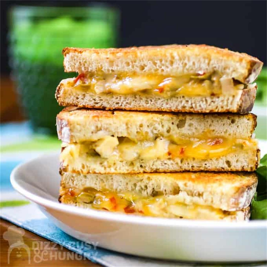 Grilled Chicken Sandwich Recipe with Cheese