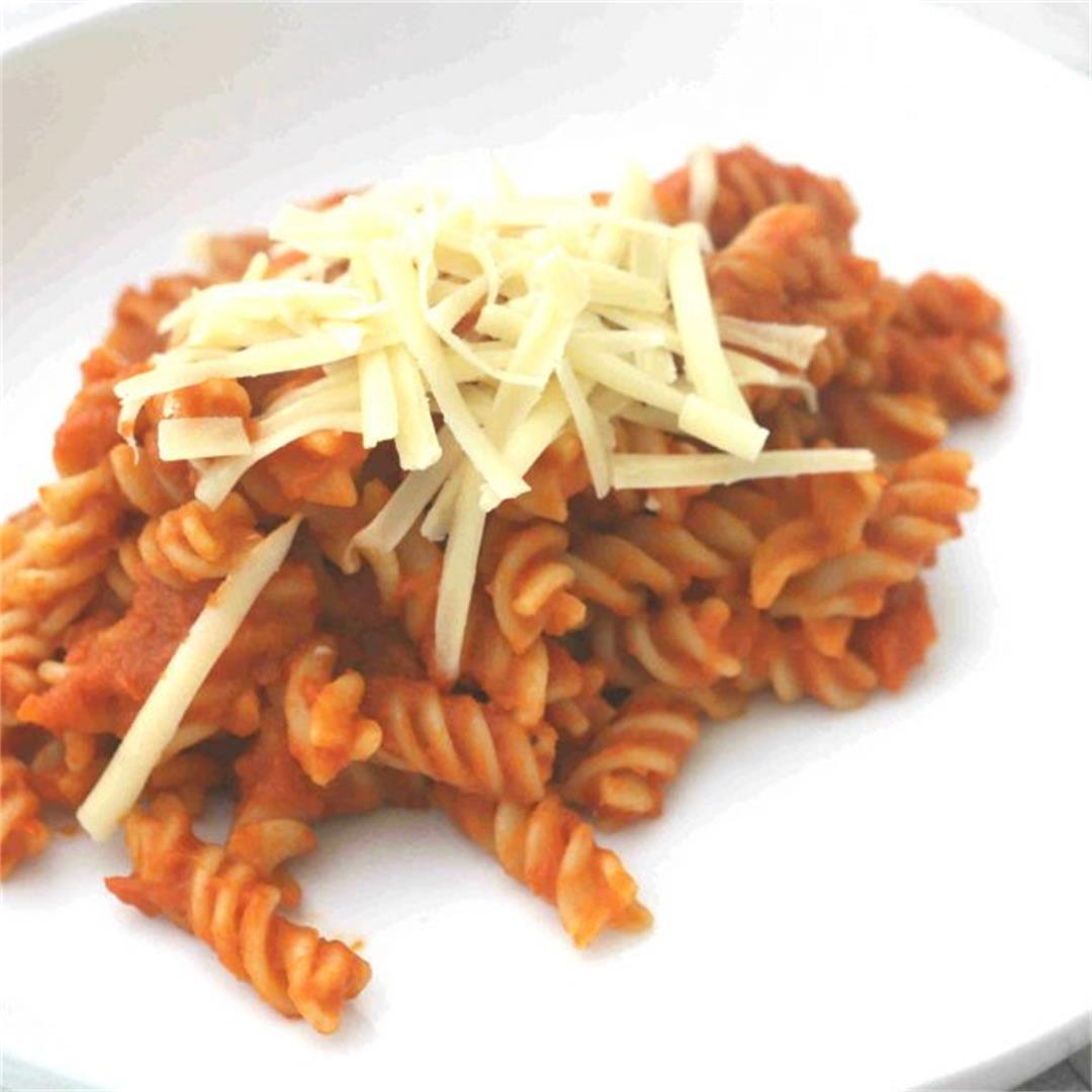 Hidden veg pasta sauce