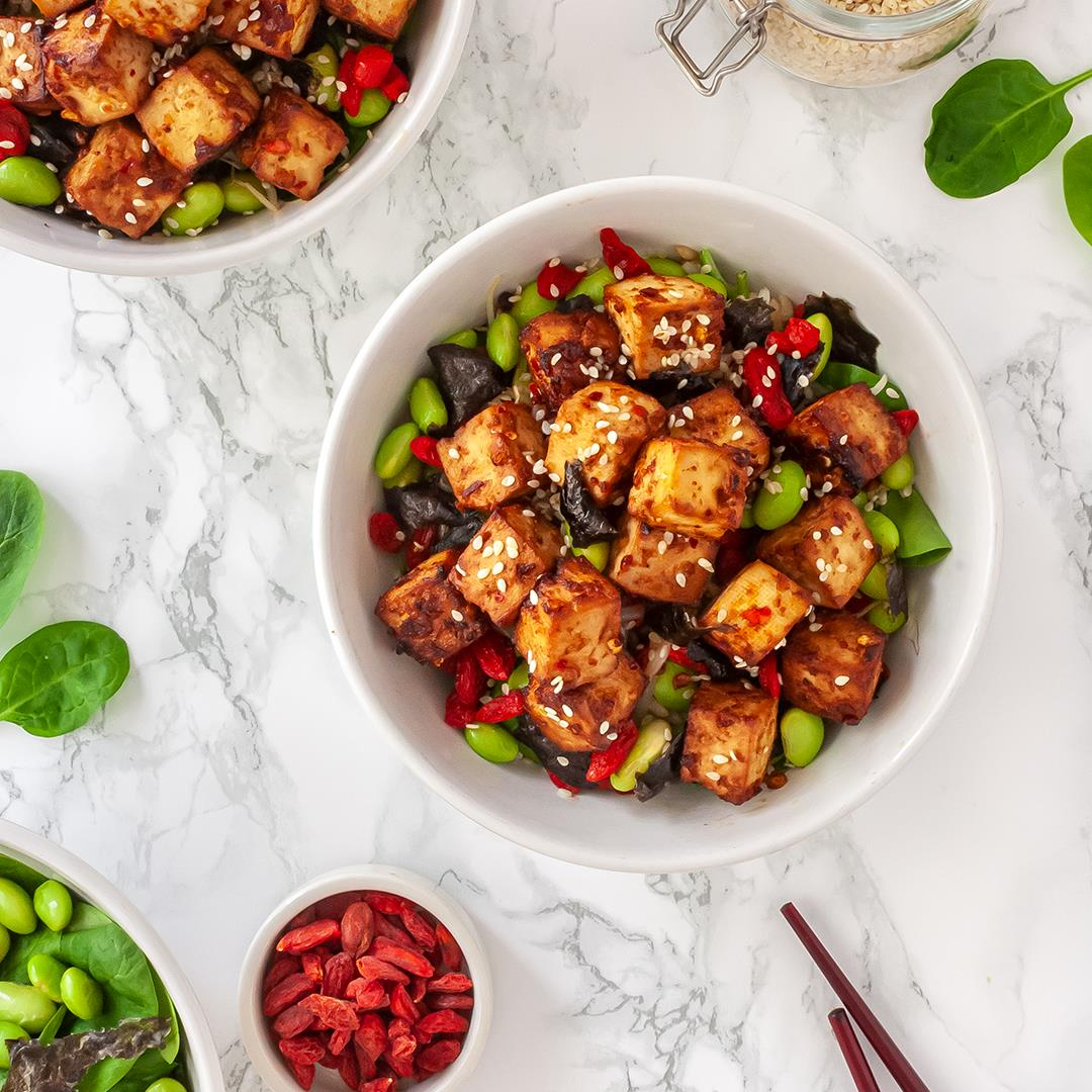 Miso Marinated Tofu