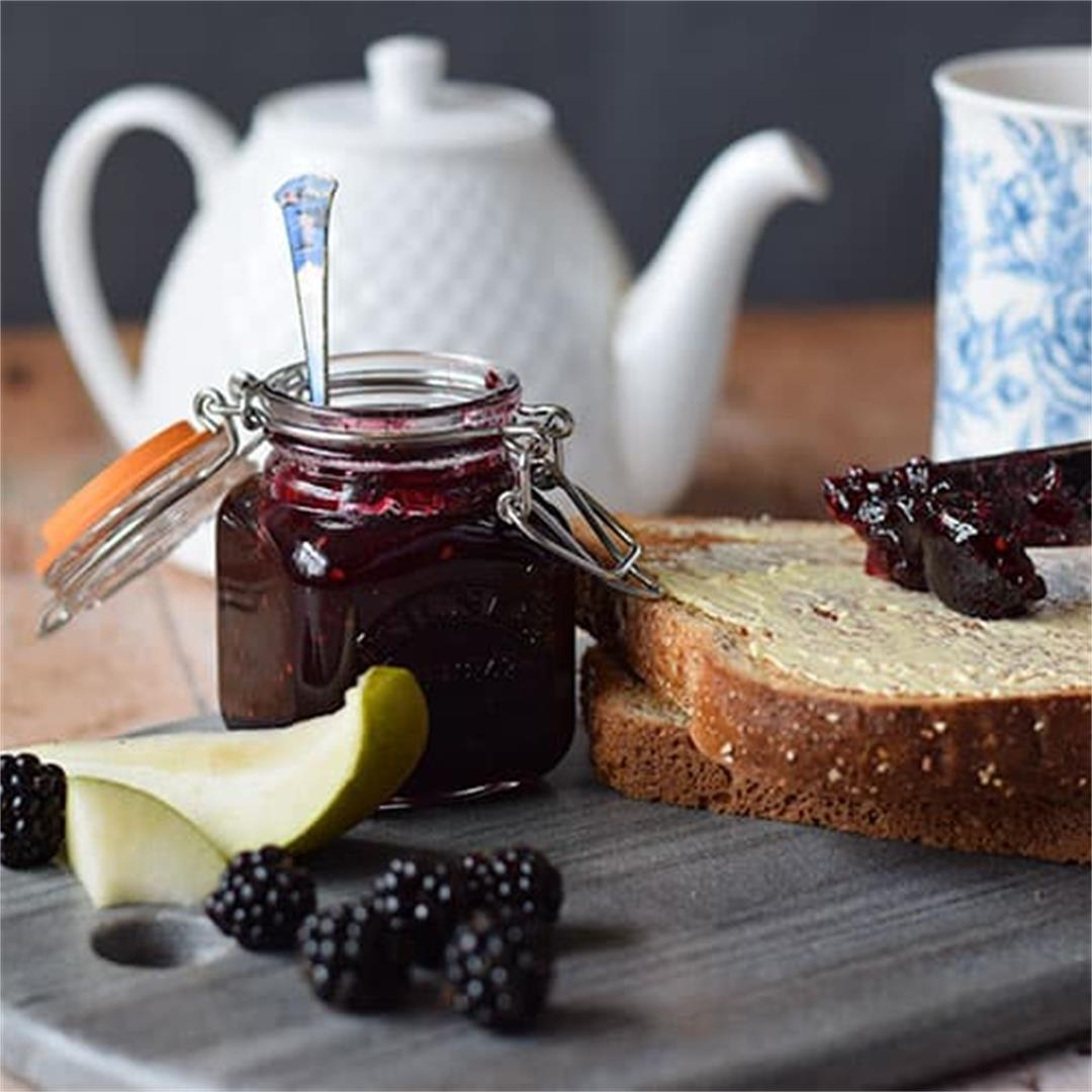 Homemade Blackberry & Pear Jam
