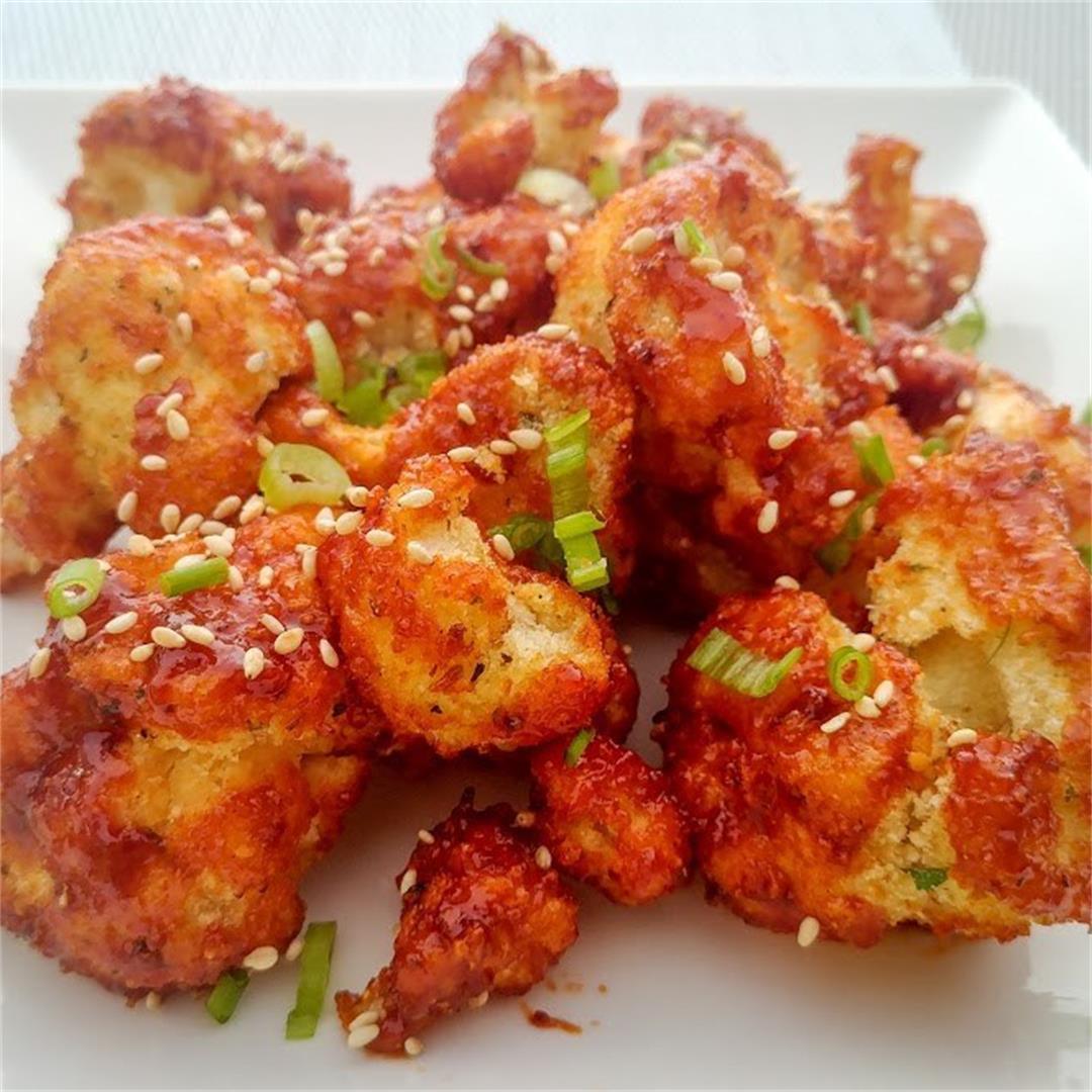 Vegetarian Korean Wings