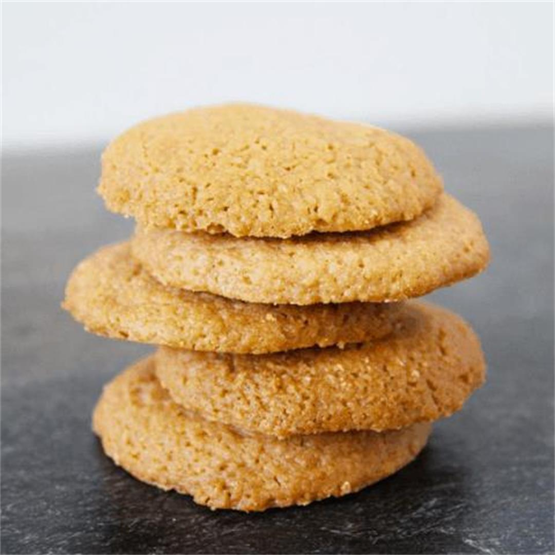 Gluten-Free Caramel Cookies - It's Not Complicated Recipes