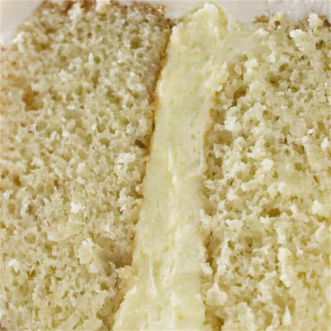 Easy Vanilla Cake Filling