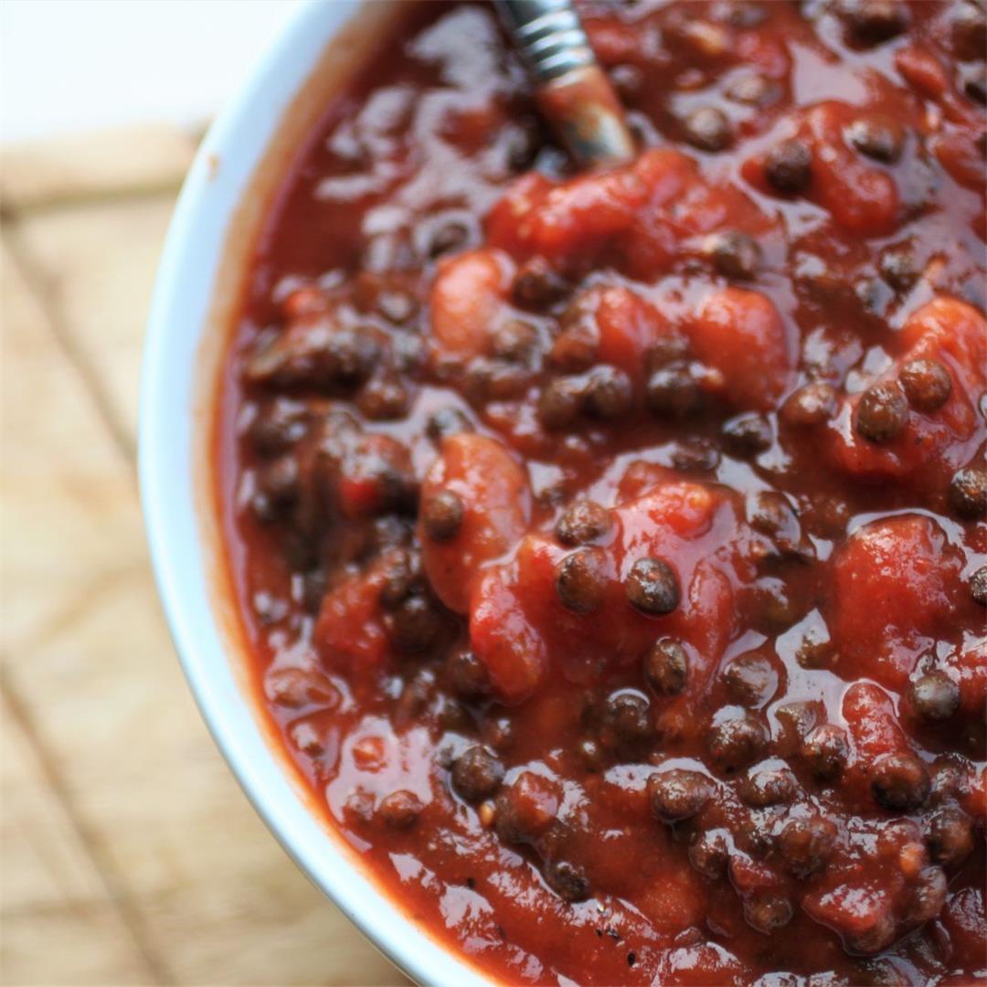 Spicy Lentil & Bean Bowl Recipe