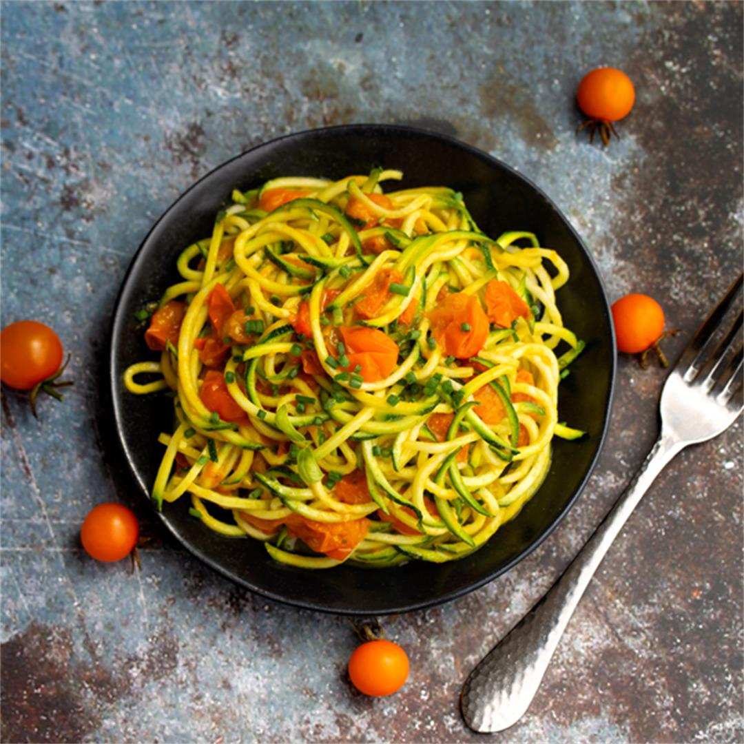 Golden State Zucchini Noodles