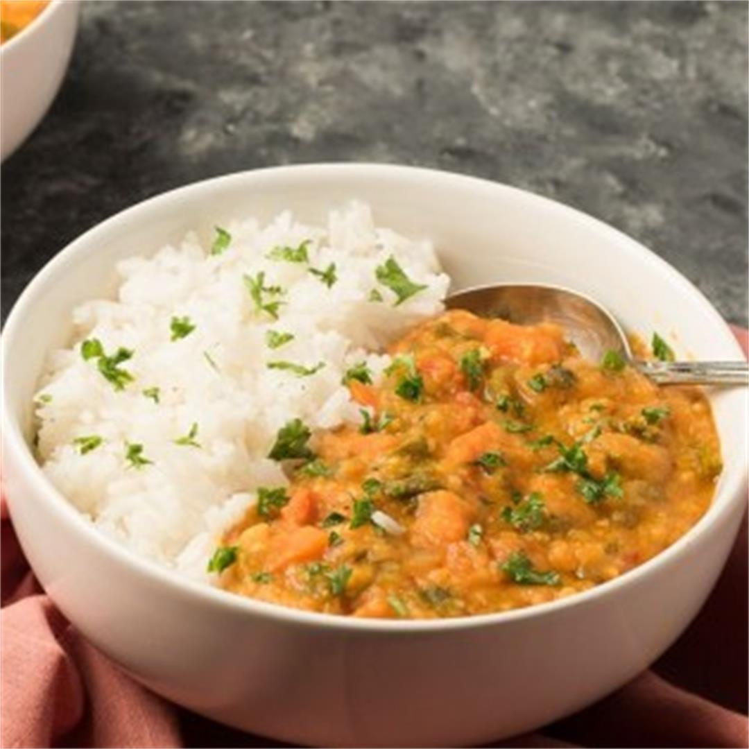 Vegetable Dal in the Instant Pot