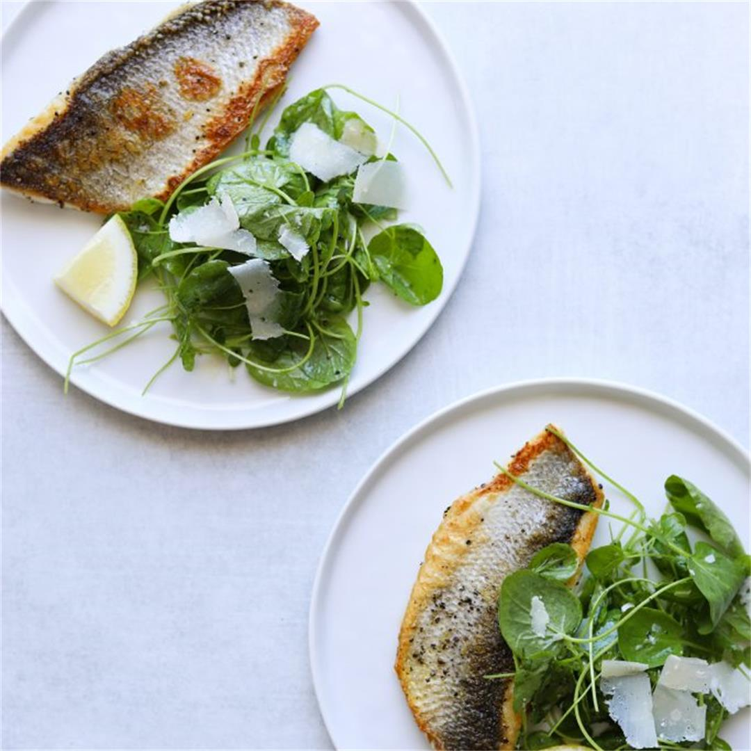 Five-Ingredient Crispy Skin Branzino