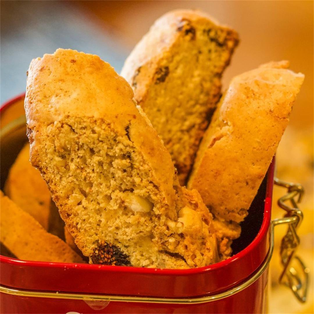 Best Biscotti Recipe (fig-walnut)