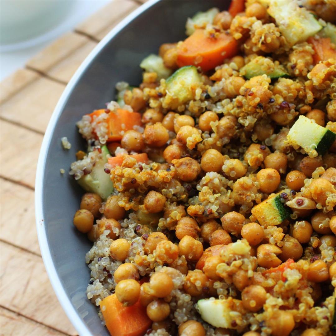 Vegan Moroccan Couscous Recipe