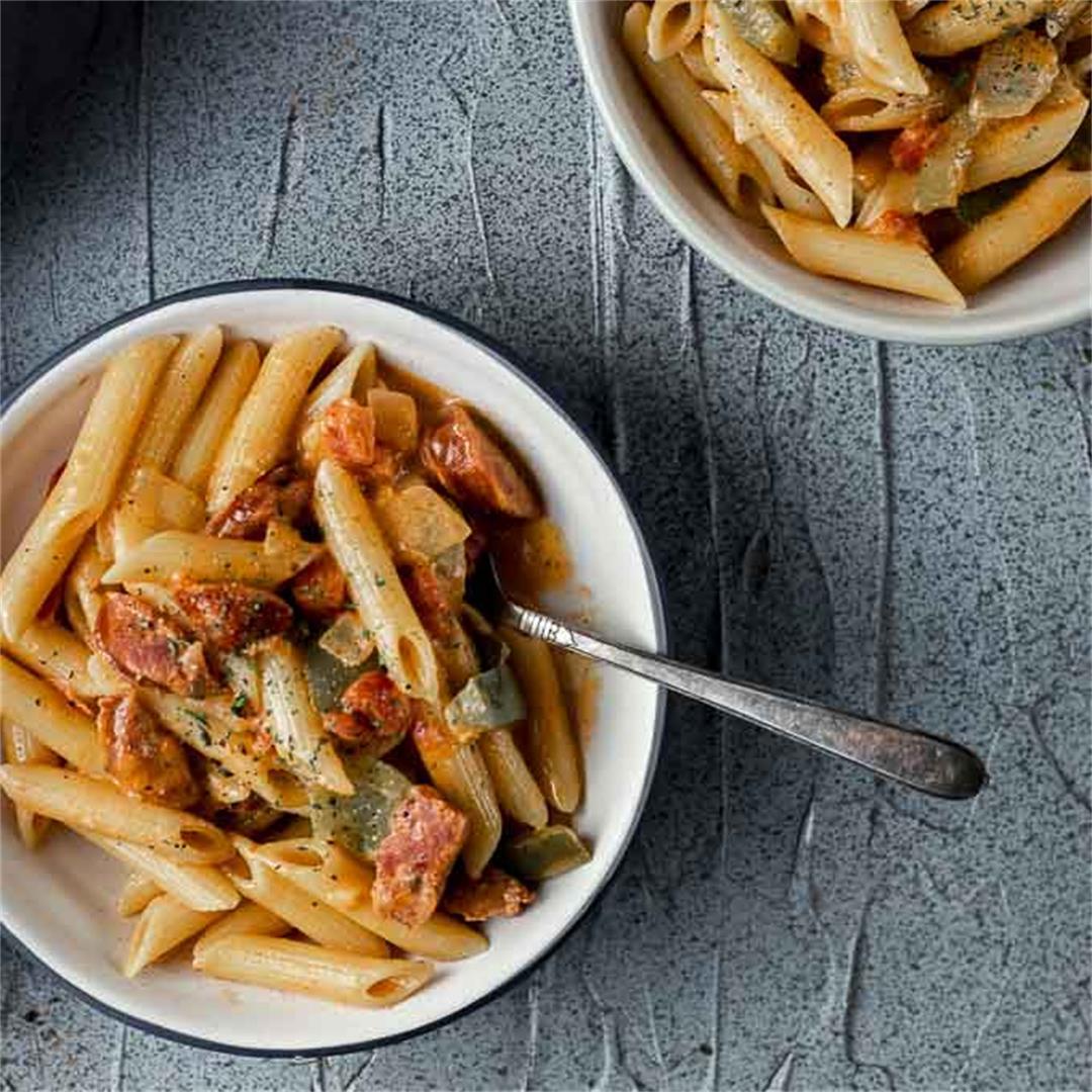 One Pot Cajun Pasta Recipe