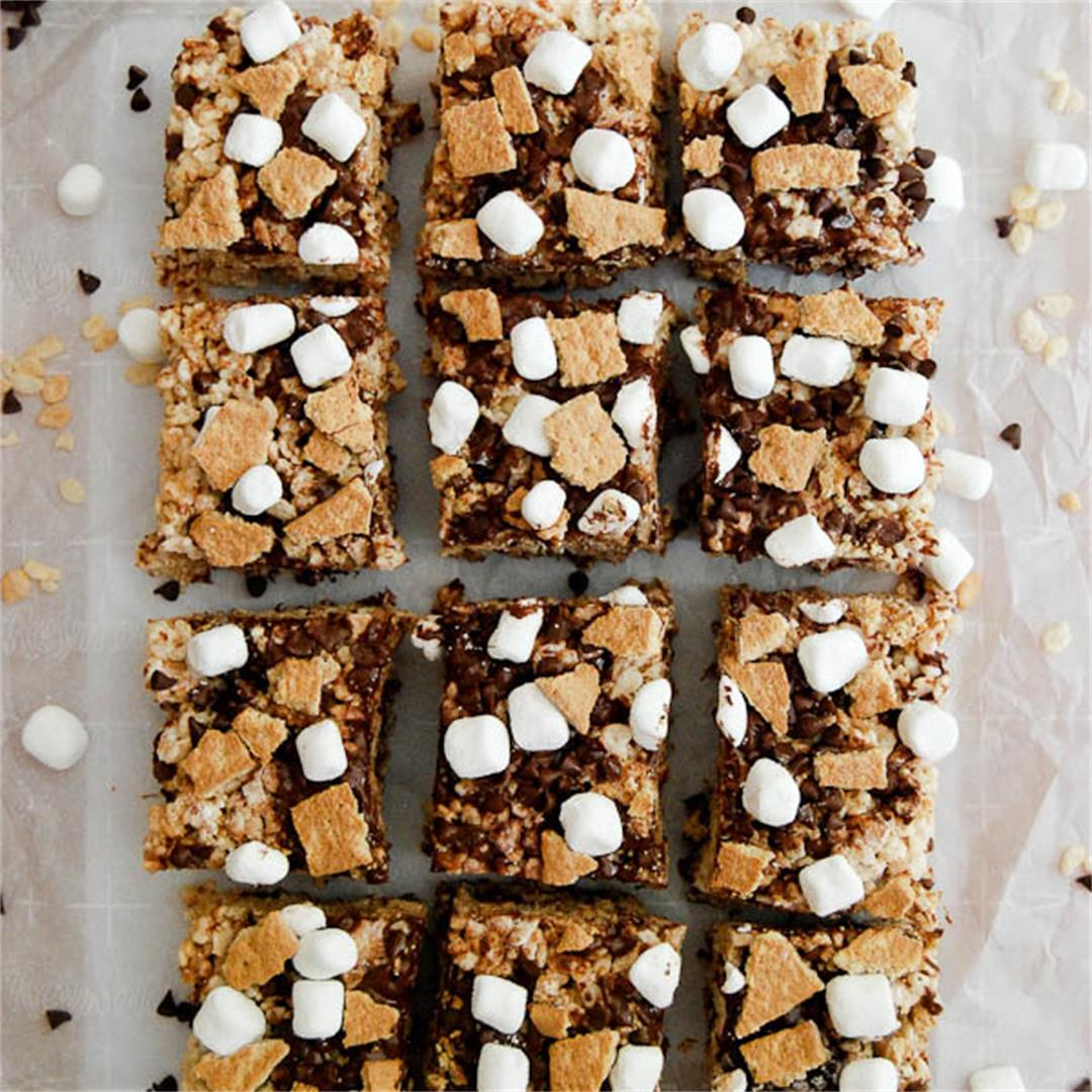 Smore's Rice Krispie Treats