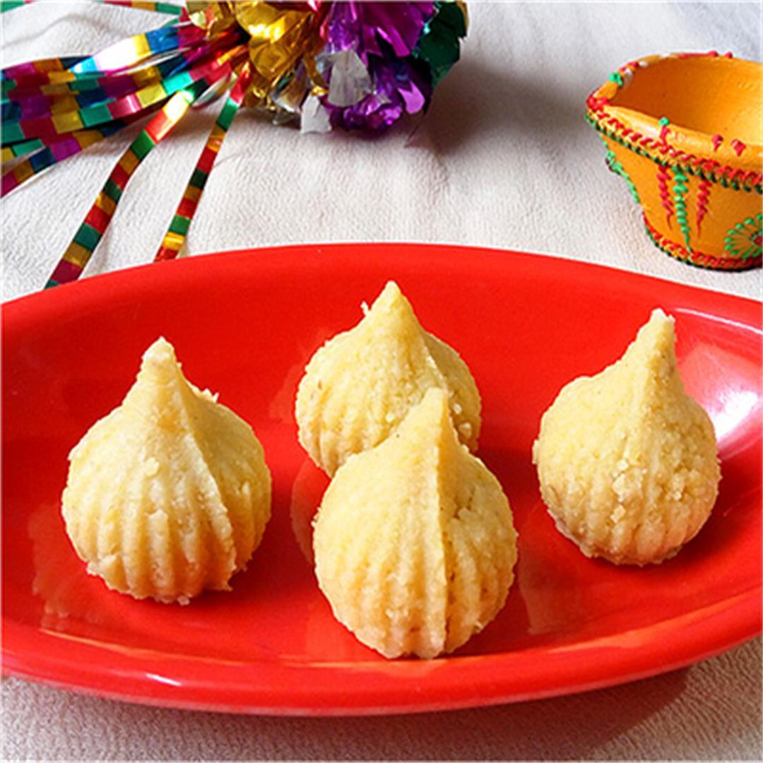 Saffron Coconut Modak