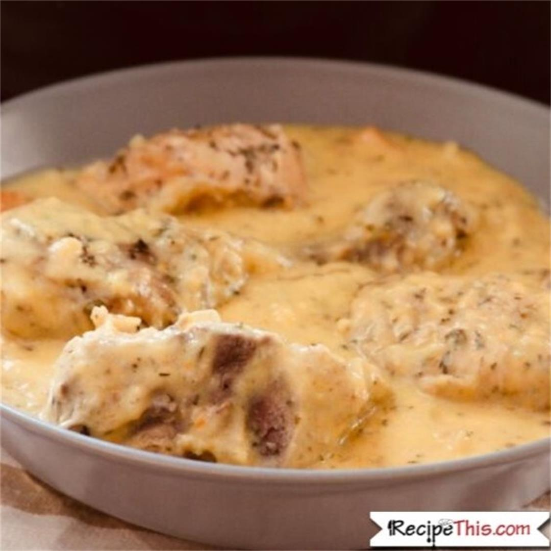 Slow Cooker Chicken Fricassee