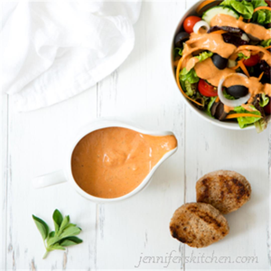 Healthy (American) French Salad Dressing