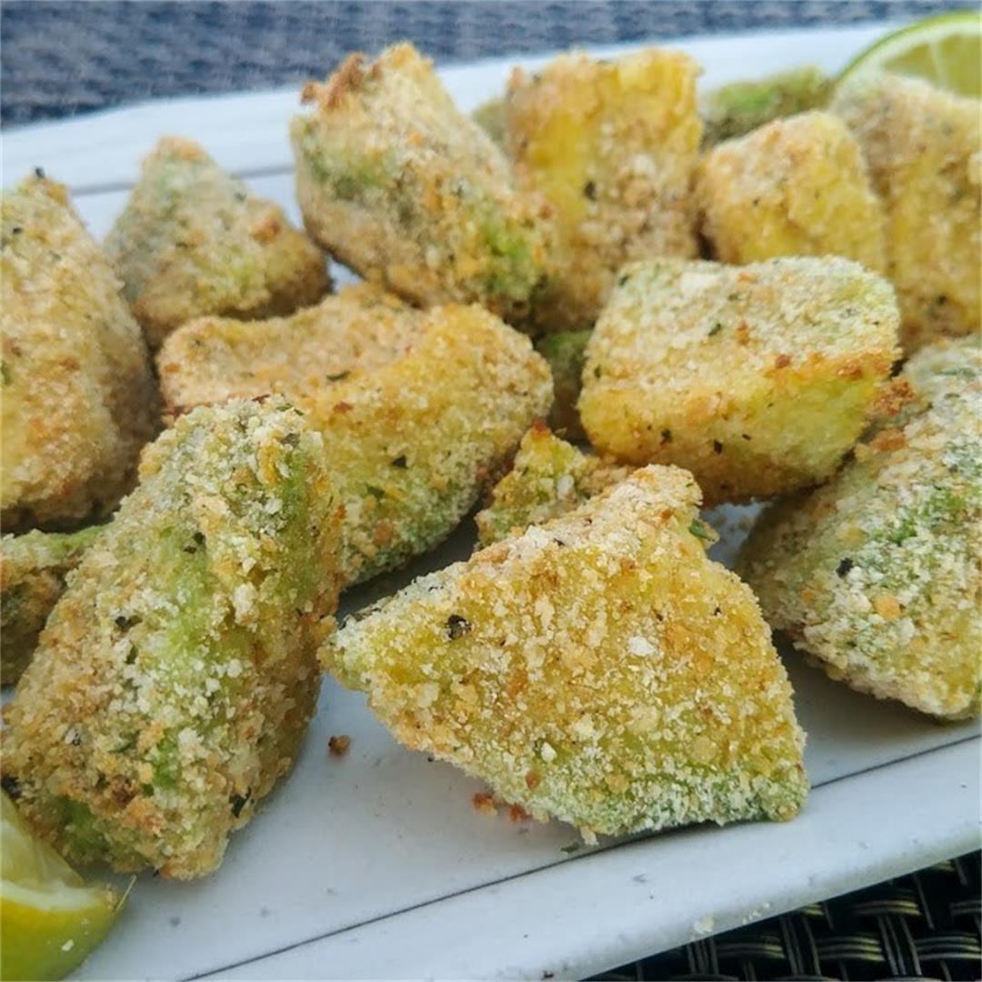 Wasabi Avocado Fries
