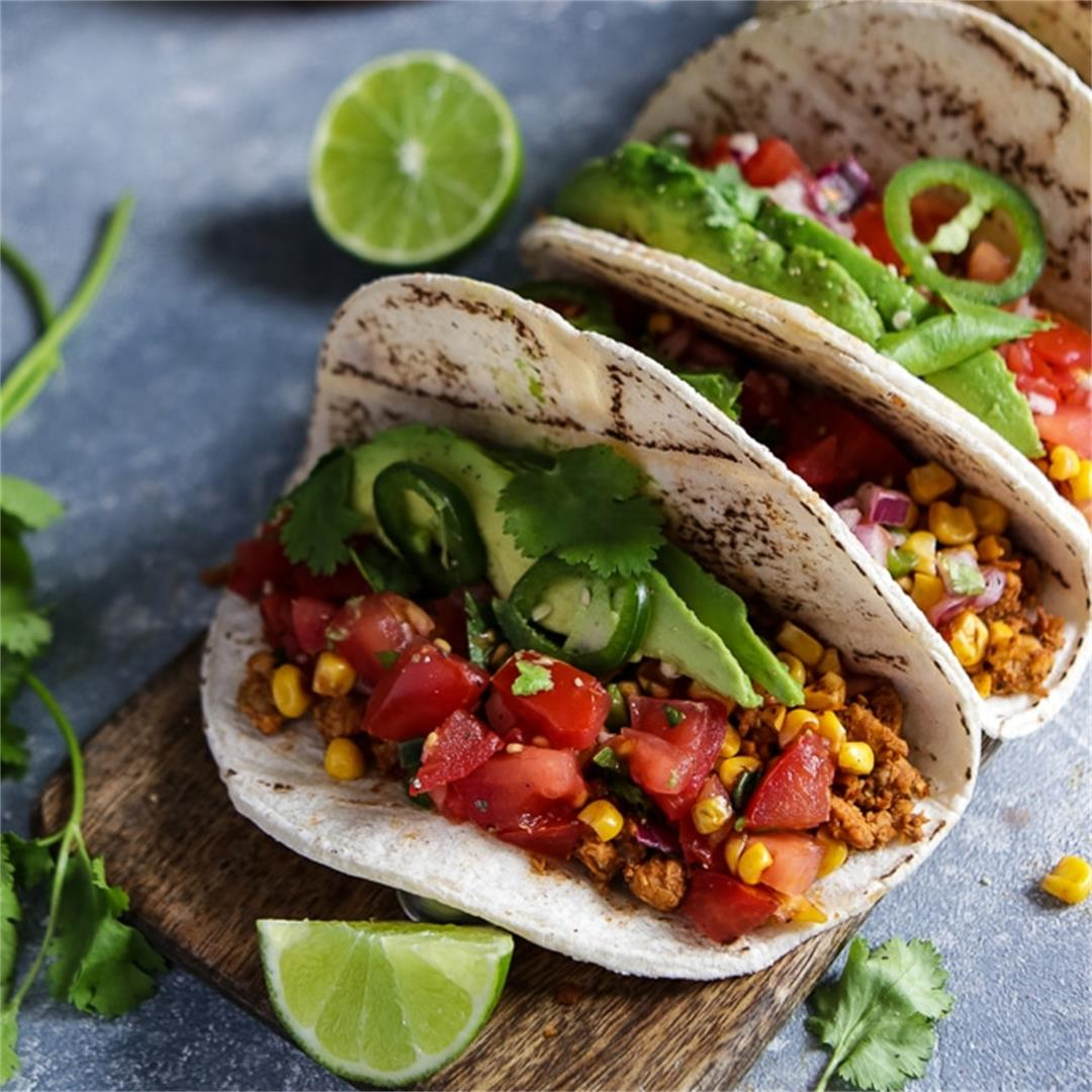 The Best Vegan Tempeh Tacos