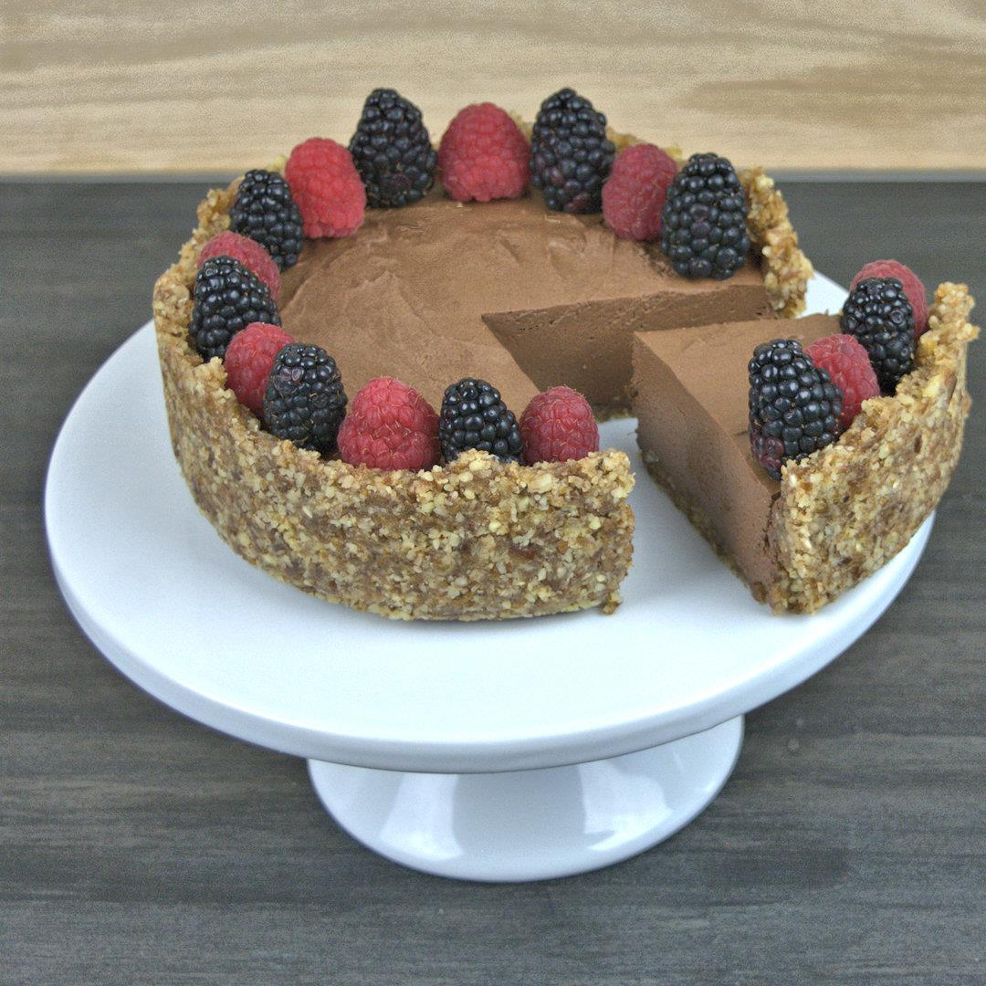 Cream & Egg-Free Chocolate Mousse Pie – A Gourmet Food Blog