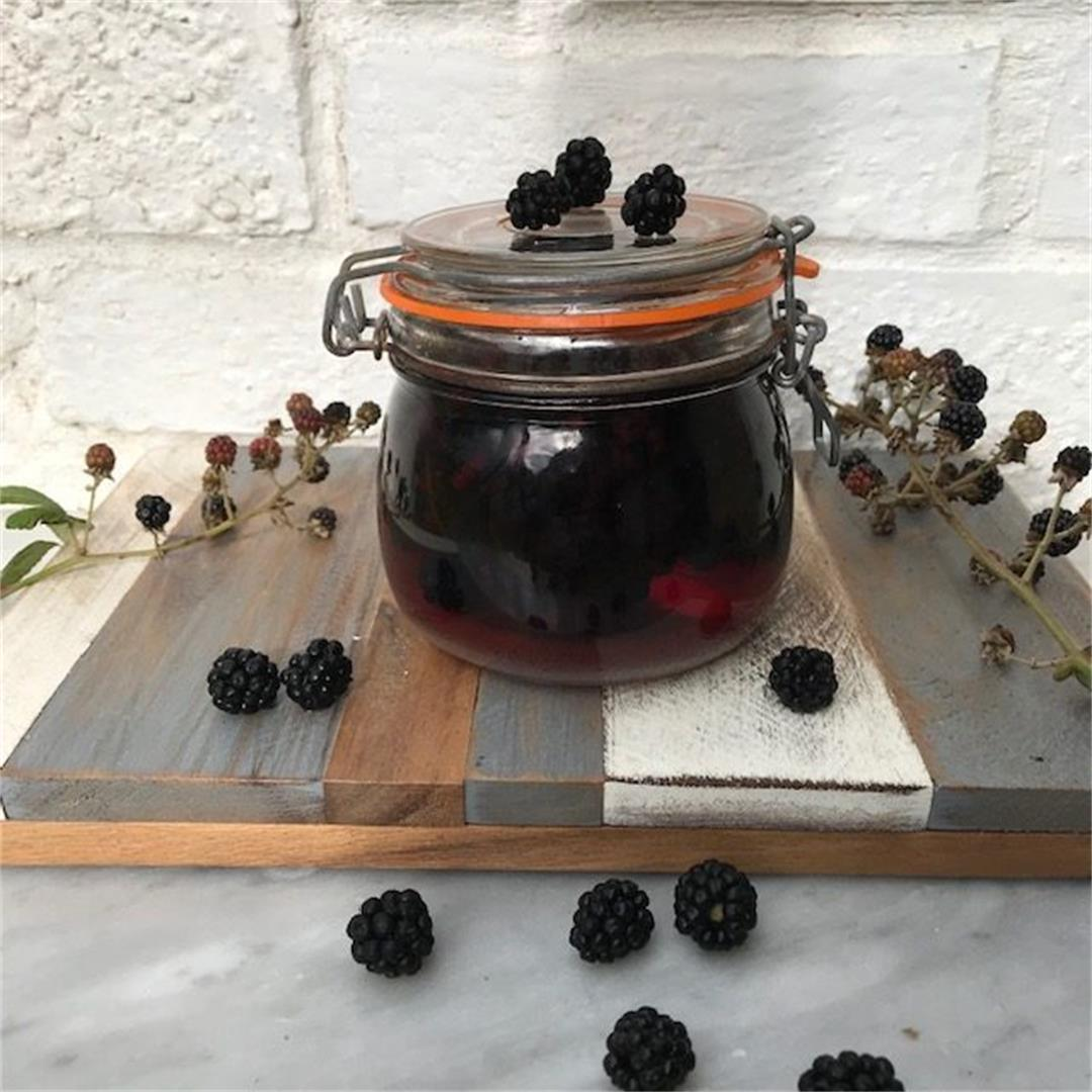 Easy Home-made Blackberry Gin recipe