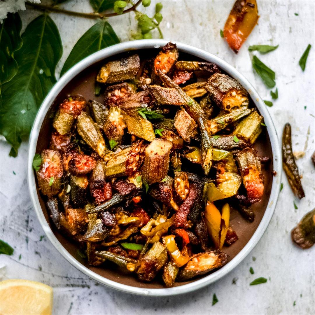 Smoky Cajun Baked Okra — Wanderings in My Kitchen