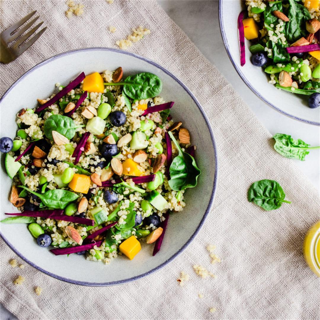 Quinoa Power Bowls (vegan & gluten-free)