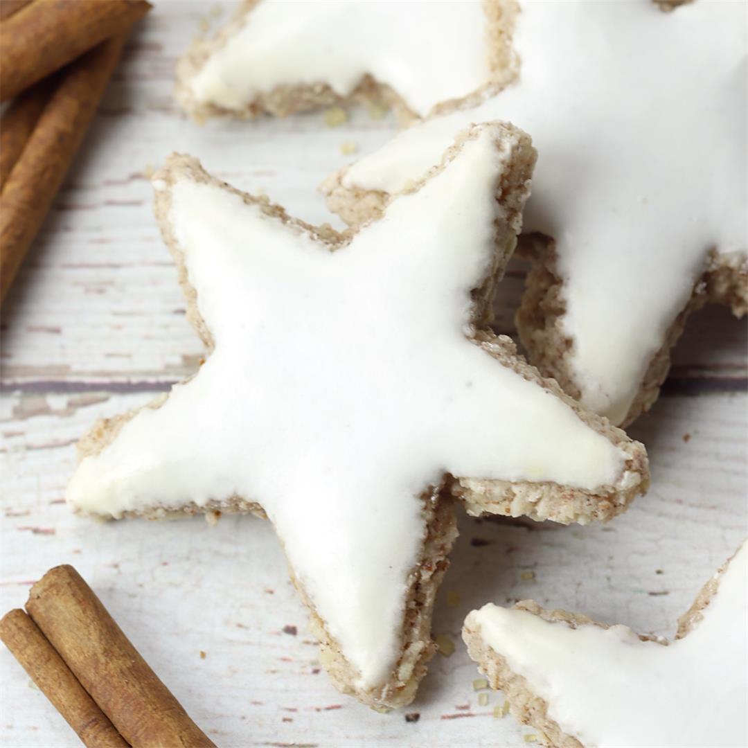 Zimtsterne - German Cinnamon Stars