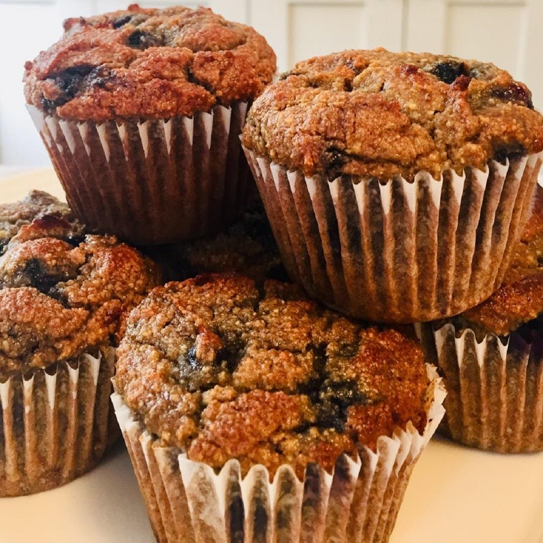 Paleo Blueberry Muffins — A Sweet Alternative