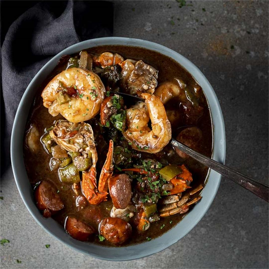 New Orleans Gumbo Recipe (Seafood Gumbo)