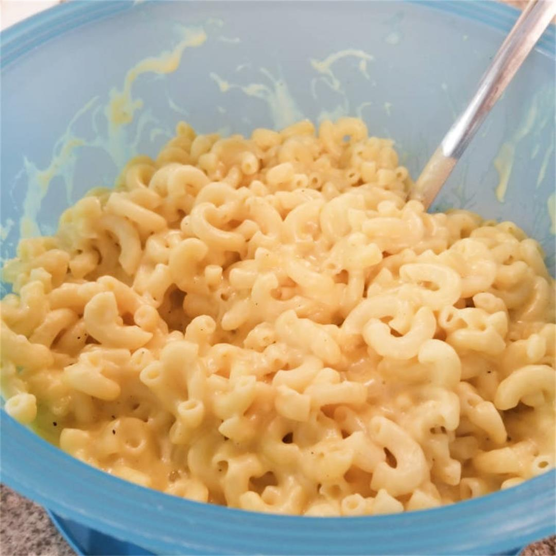 Creamy Three Cheese Mac and Cheese