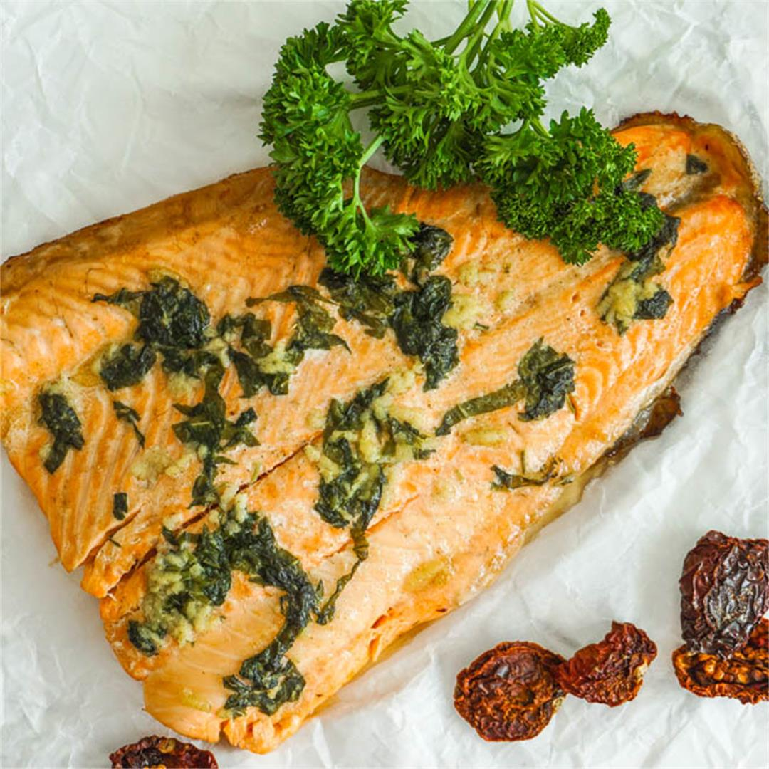 30 Minute Baked Salmon Fillet Recipe