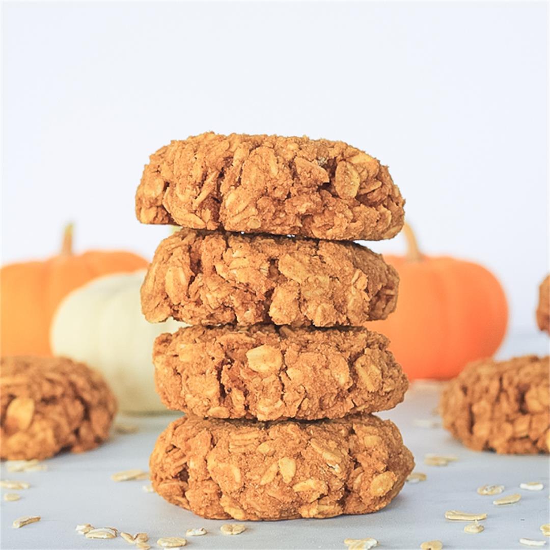 Pumpkin Breakfast Cookies