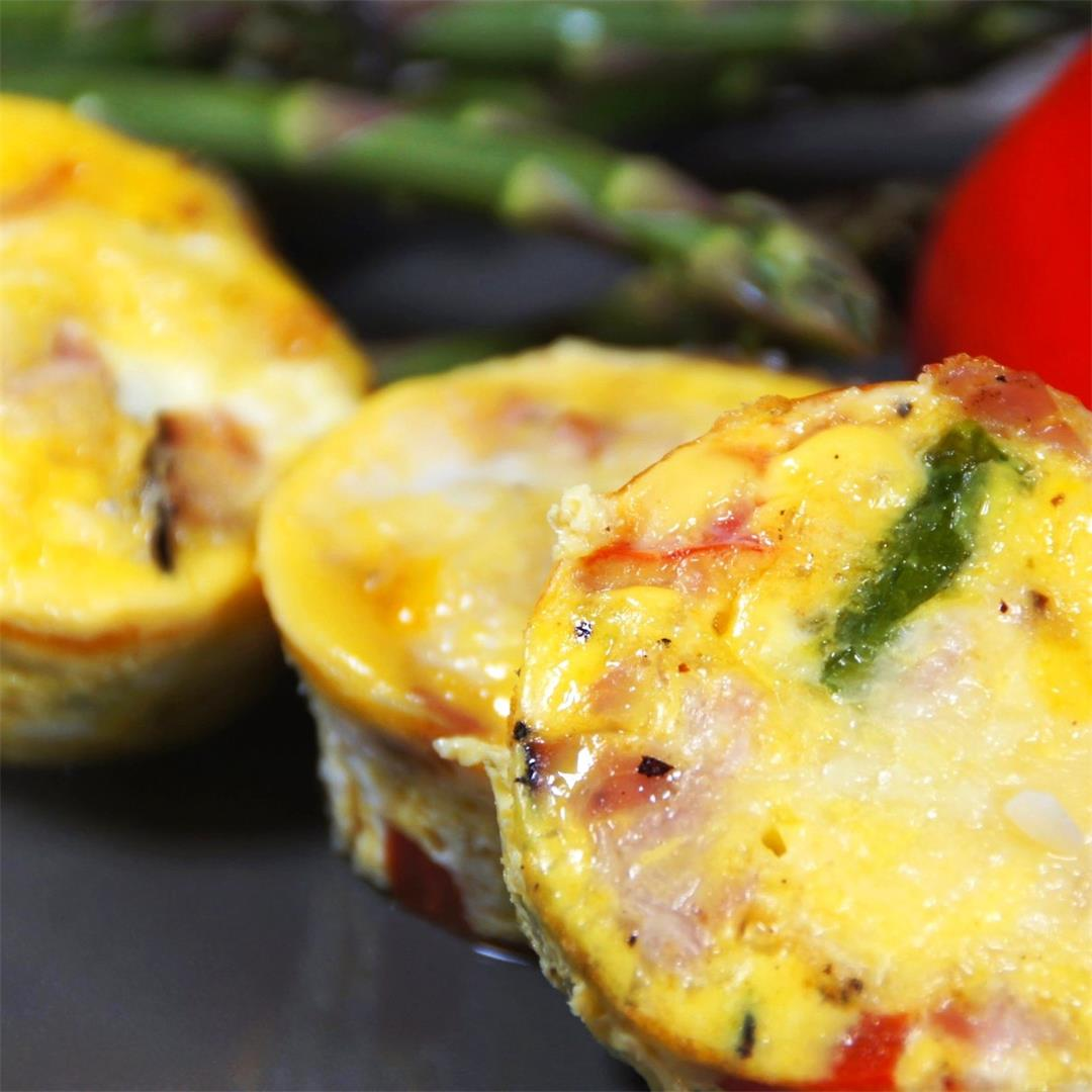 Breakfast Egg Muffins — Land of 10,000 Recipes