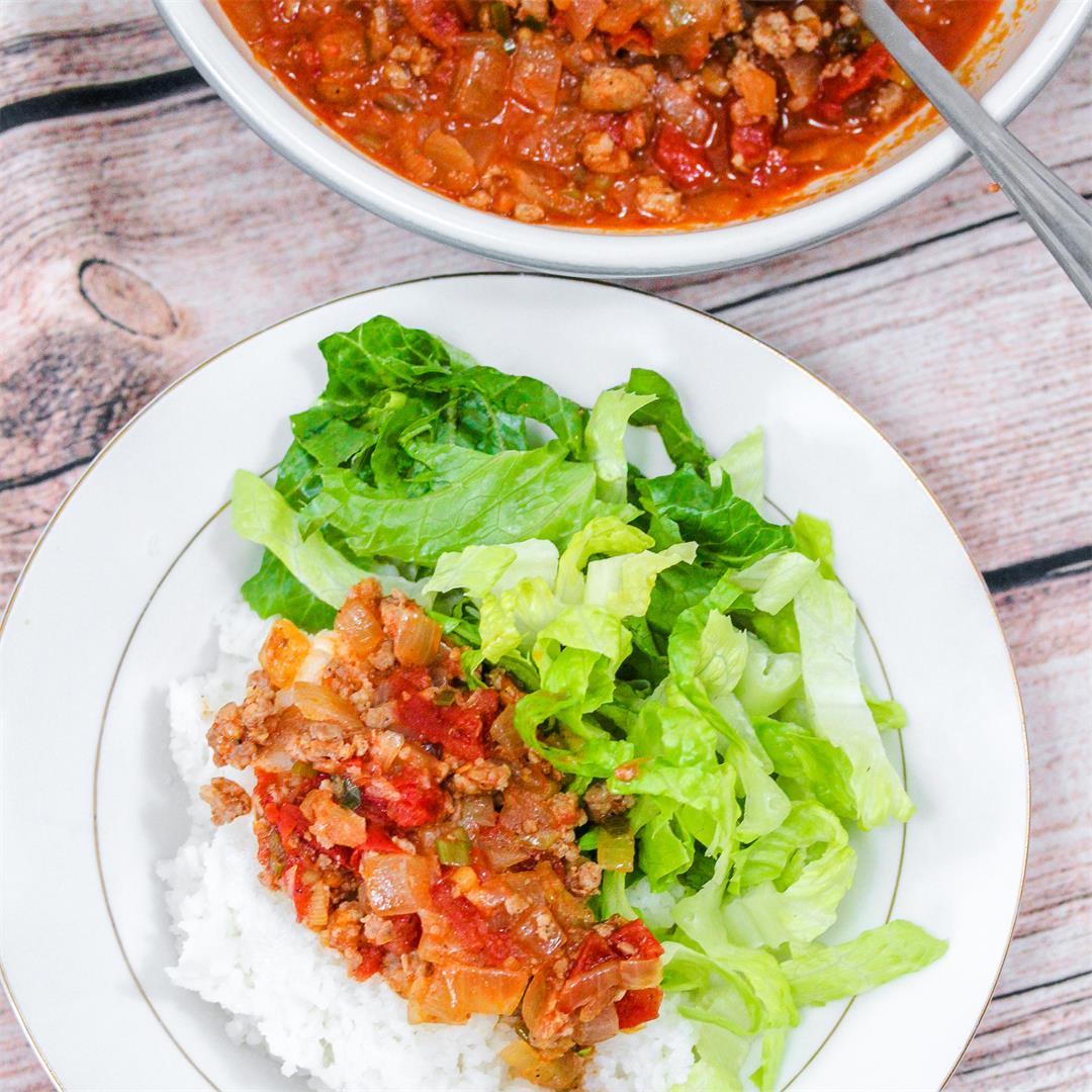 Vietnamese Ground Pork in Tomato Sauce (Thịt Băm Sốt Cà Chua)