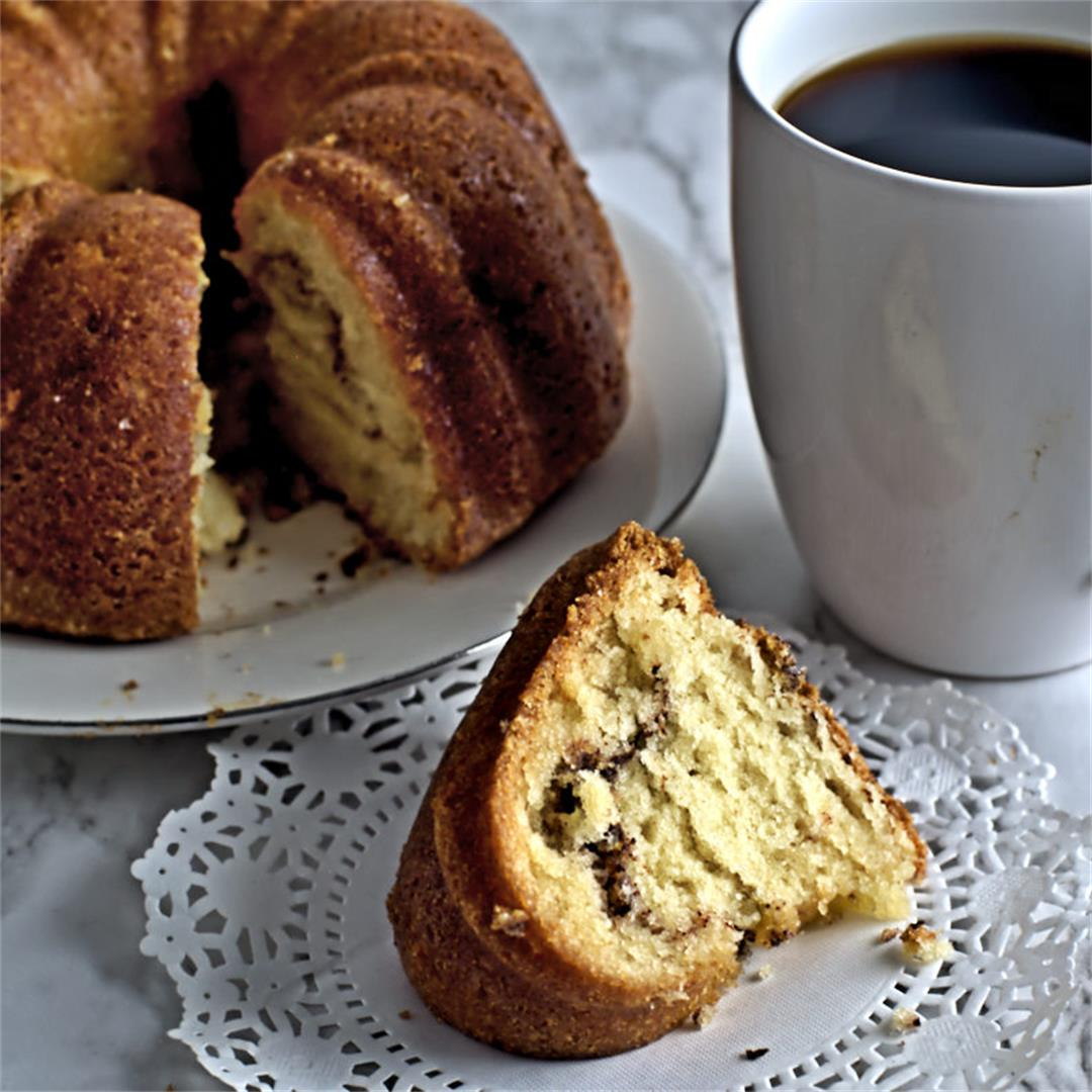 Cinnamon Sugar Coffee Cake
