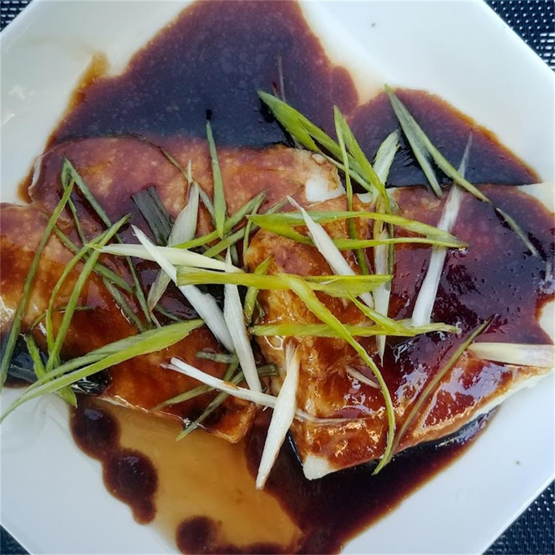 Chinese style White Fish with Sauce