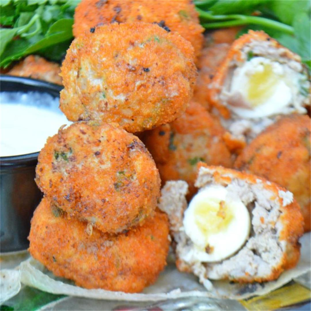 Quail Scotch Eggs — Tasty Food for Busy Mums Easy Family Recipe