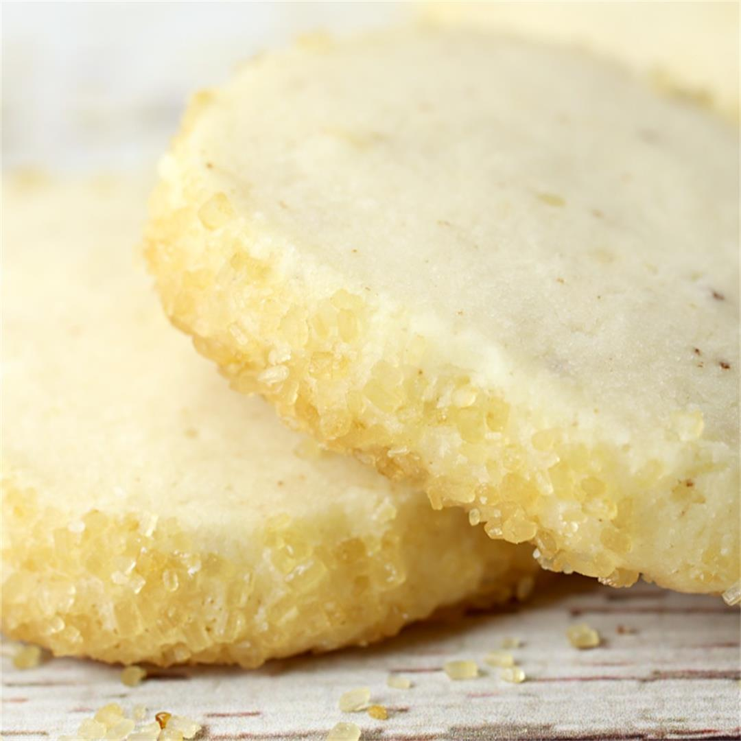 Heidesand - German Browned Butter Shortbread Cookies