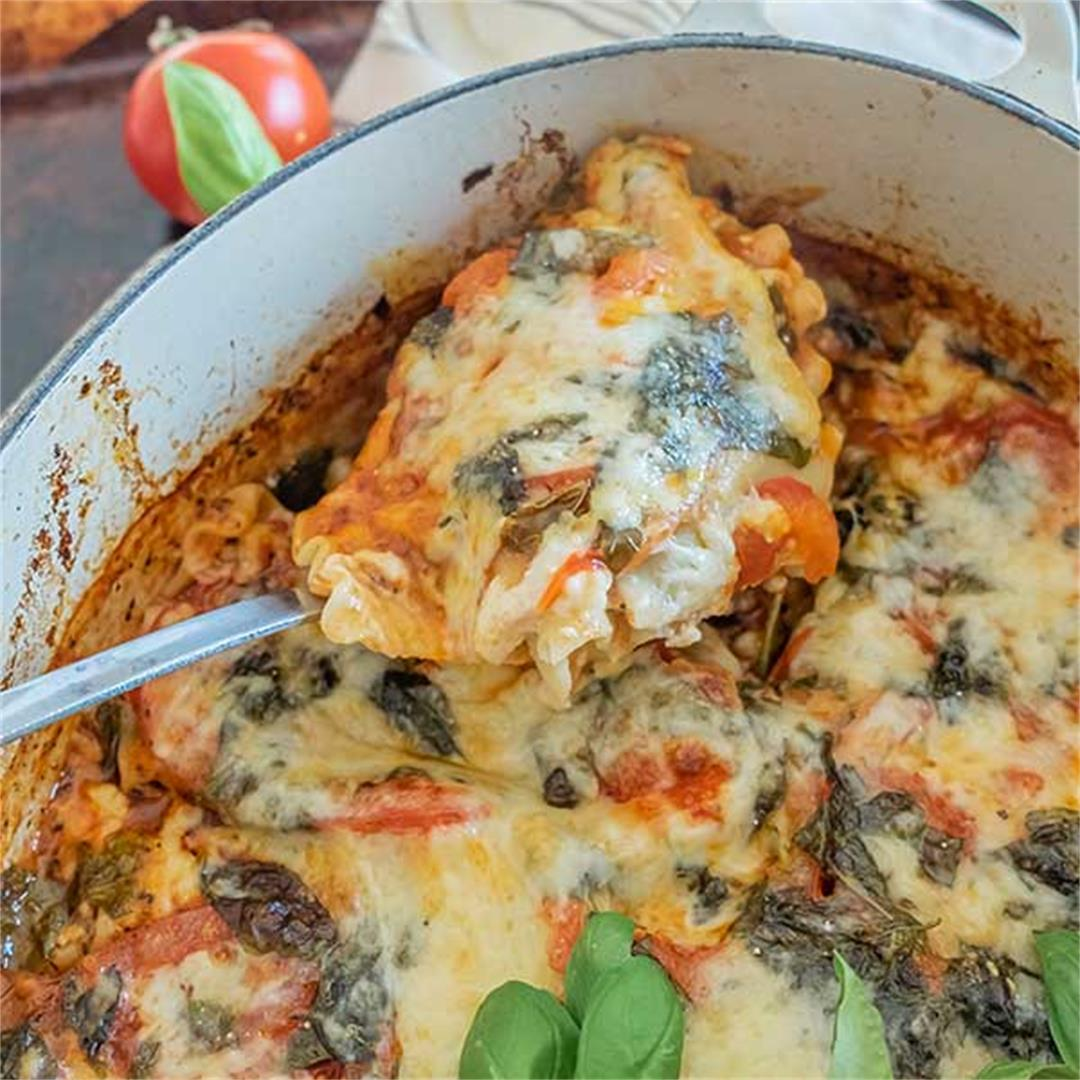 Gluten-Free One Pot Lasagna Recipe