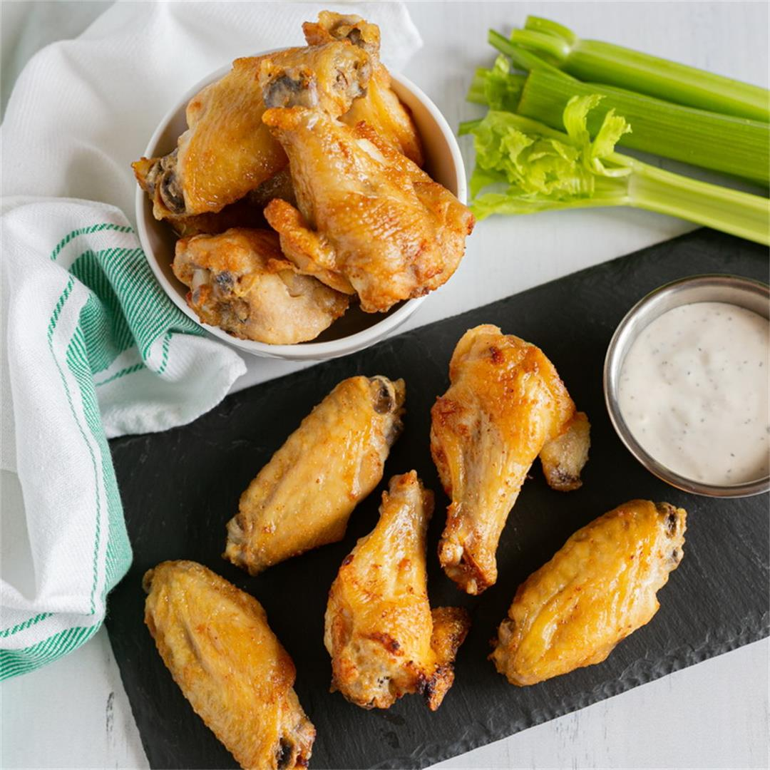 Salt and Vinegar Wings (Air Fryer or Oven Baked)