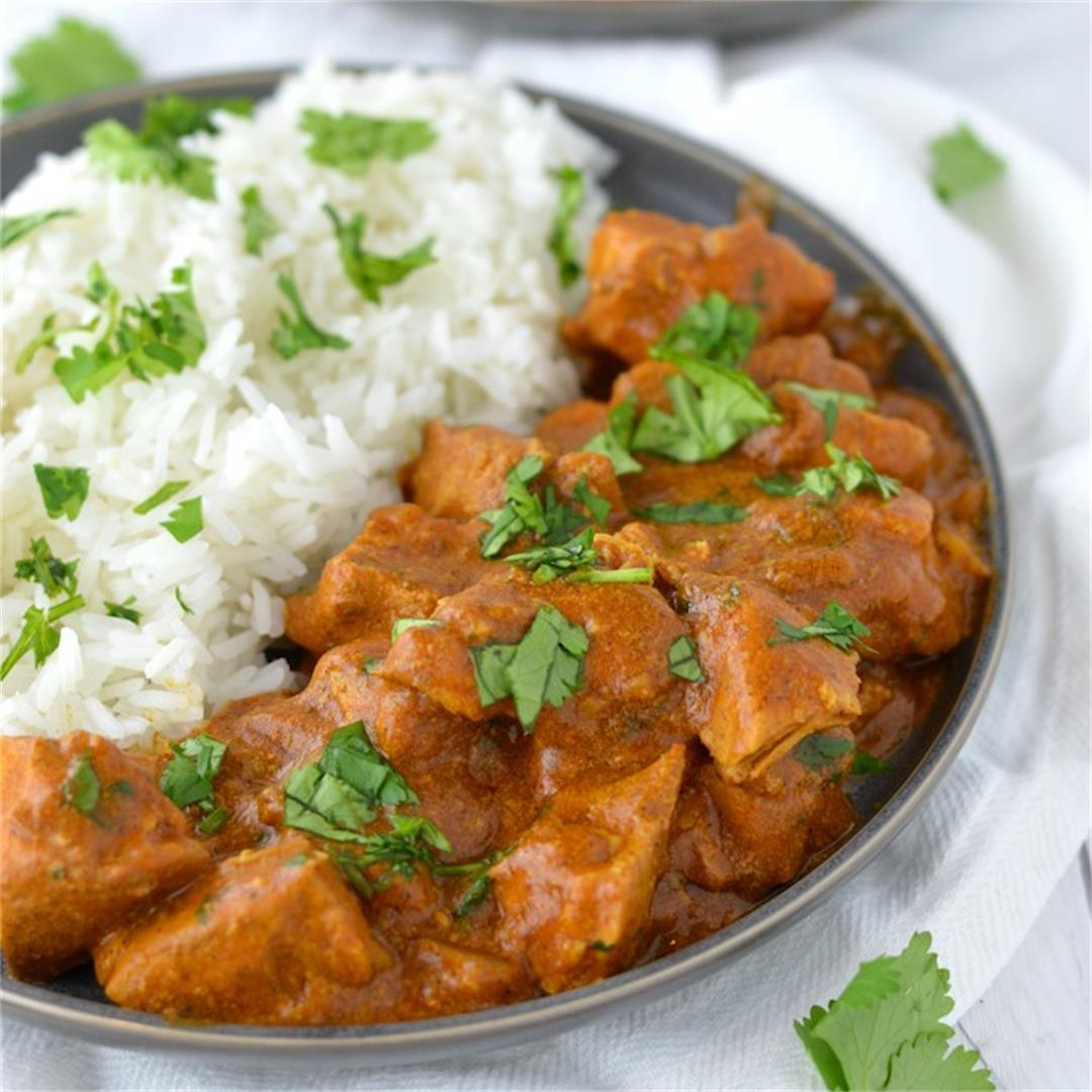 Slow Cooker Indian Butter Chicken Recipe