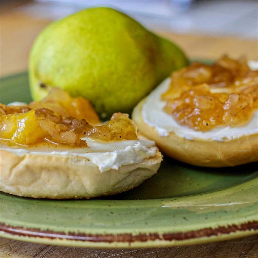 Pear-Apple Preserves Recipe