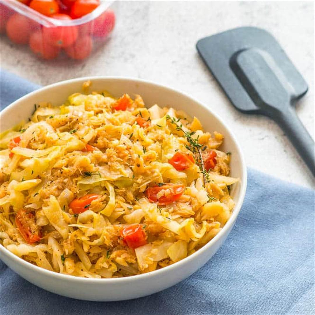 Cabbage and Saltfish