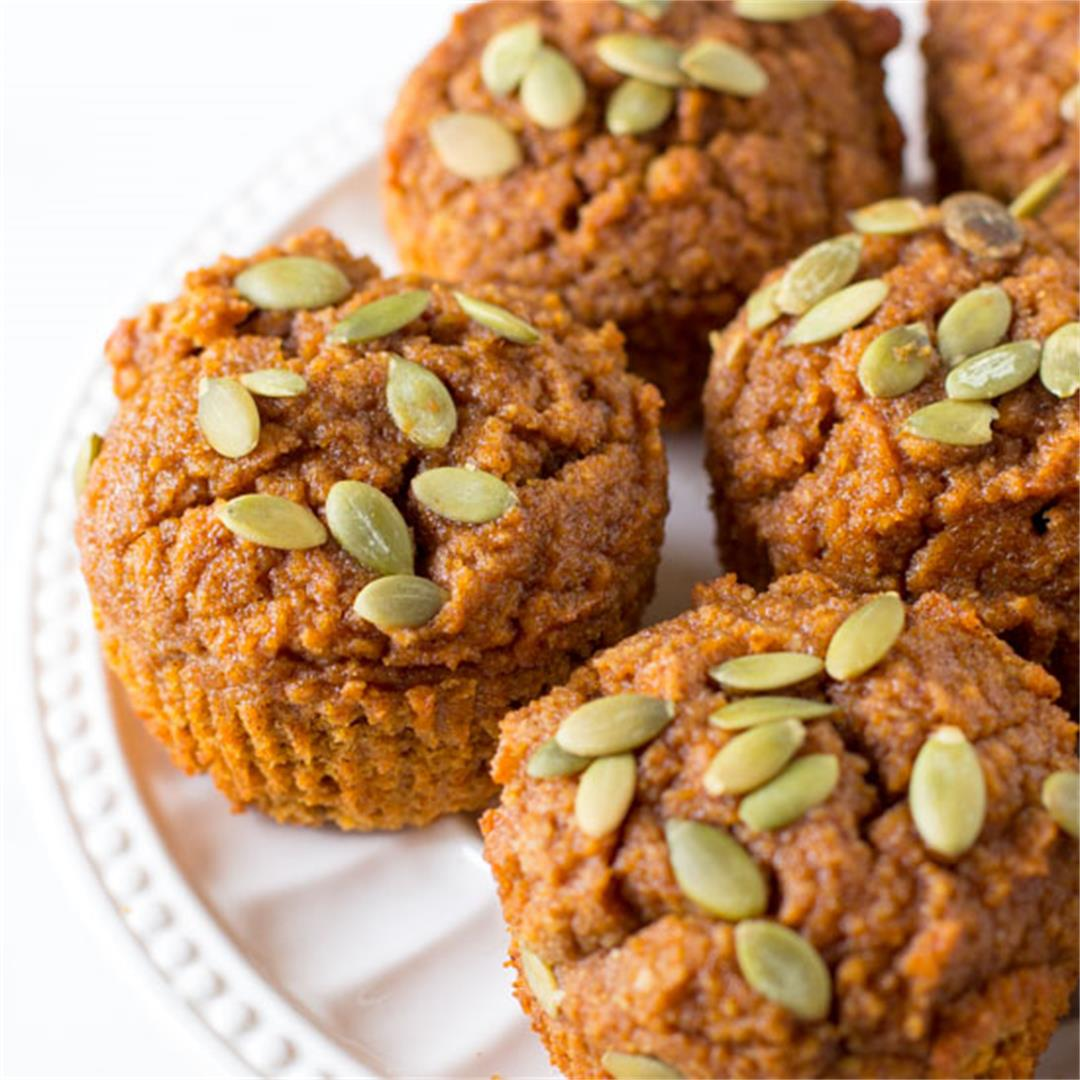 Healthy Pumpkin Muffins You'd Never Guess Are Healthy
