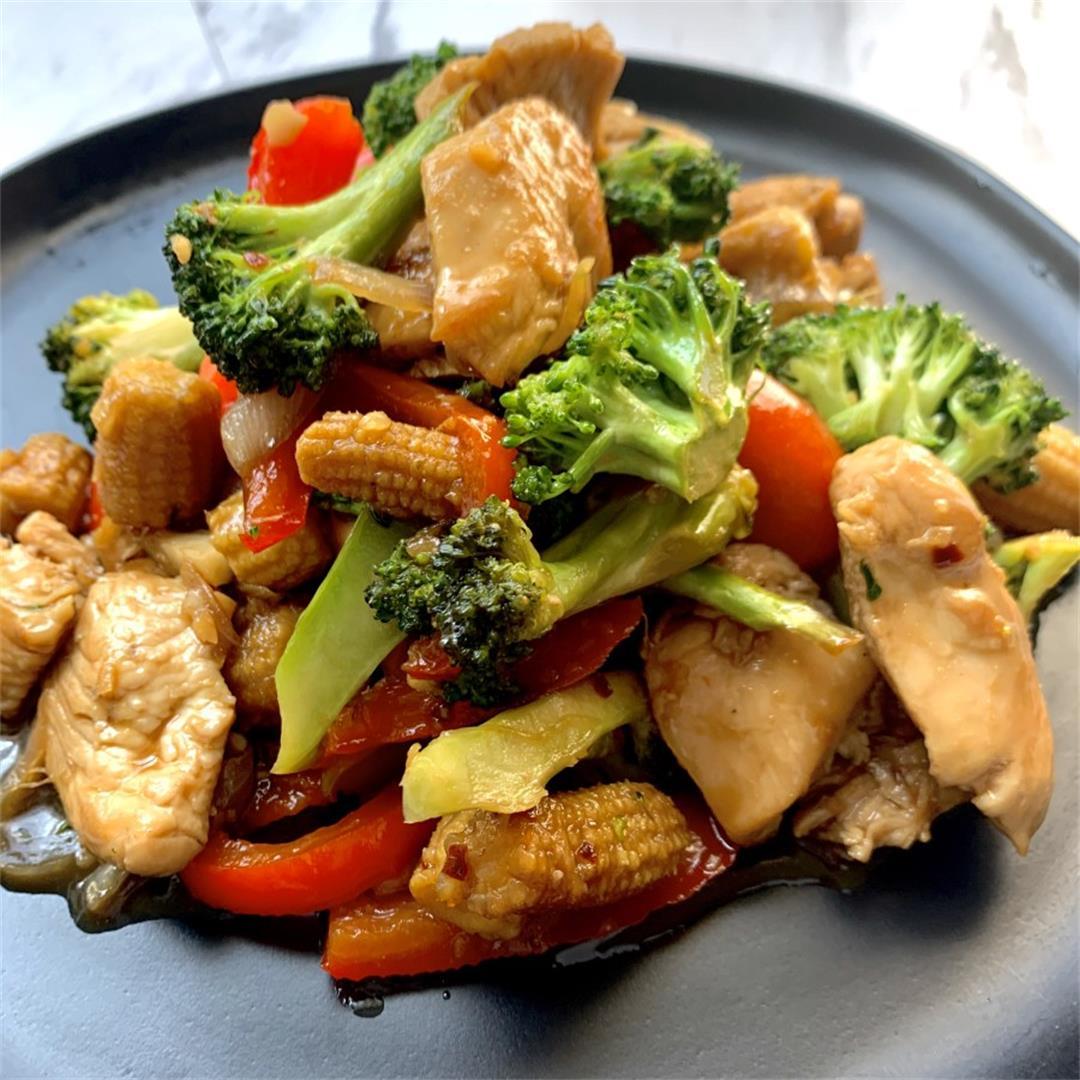 Tasty Chicken Stir Fry