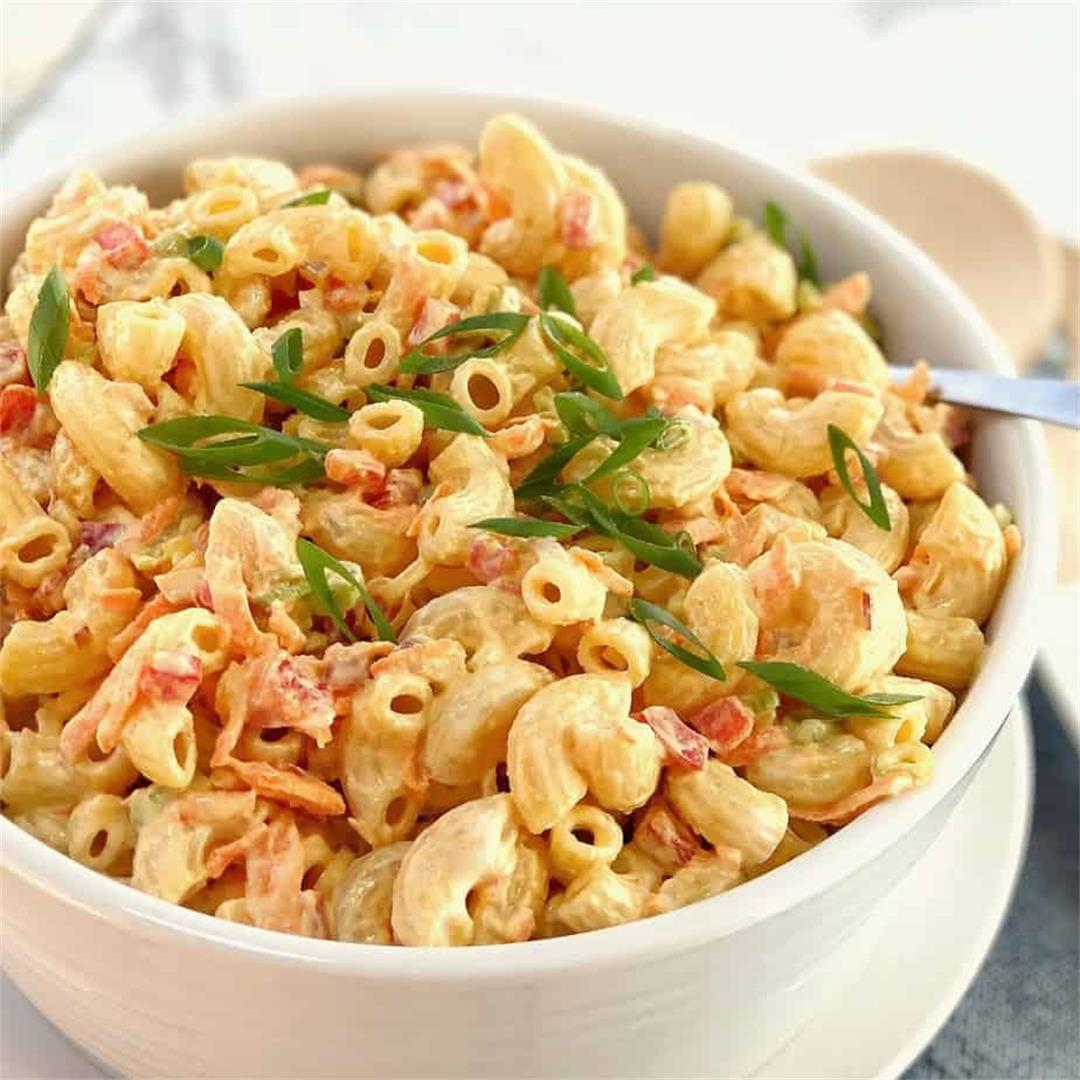 Creamy Macaroni Salad · Chef Not Required...