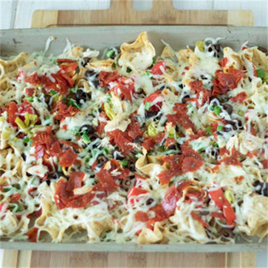 Italian Nachos — The Buttered Home