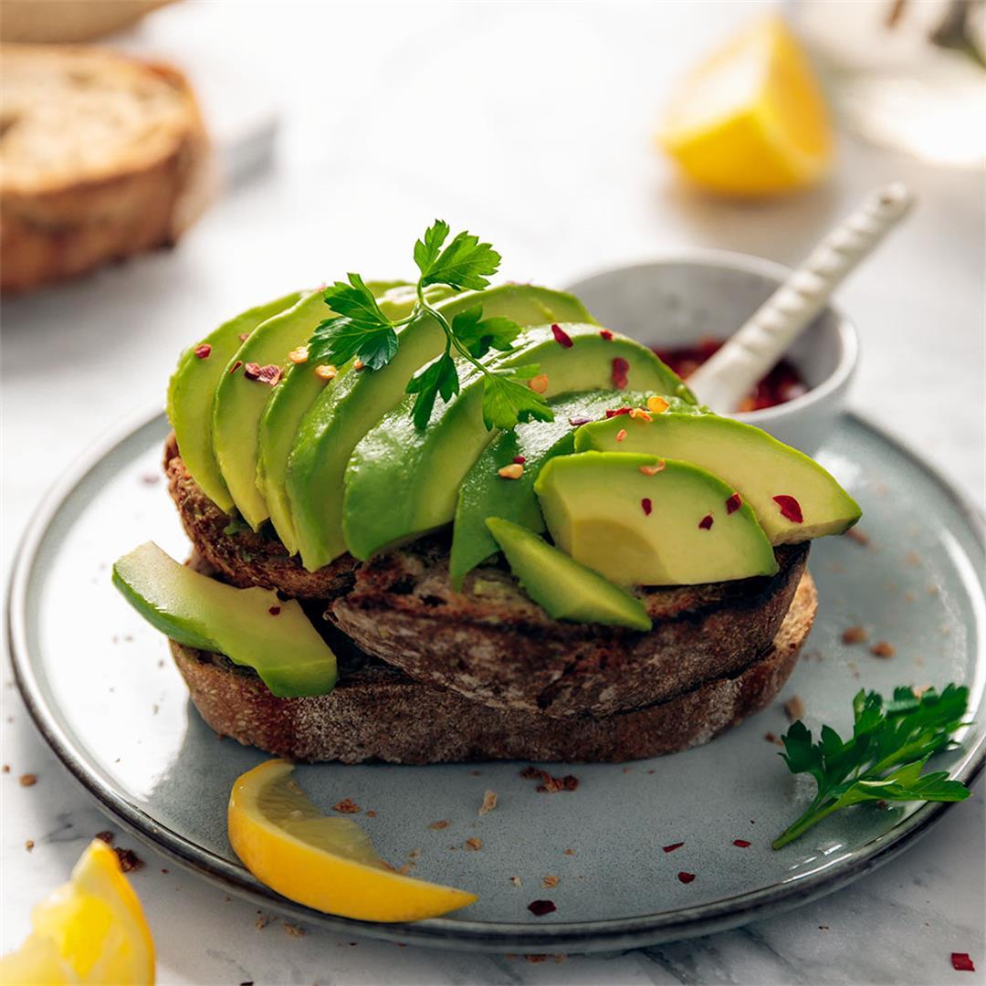 Healthy Avocado Toast + Variations